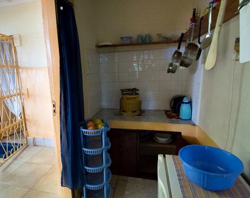 Die separate Küche unseres Gästehauses