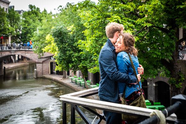 Loveshoot in Utrecht (Oude Gracht)