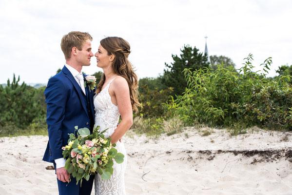 trouwen in duinen