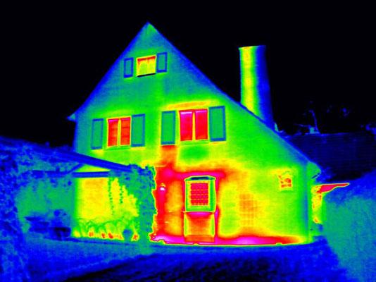 Undichtes Haus prüfen