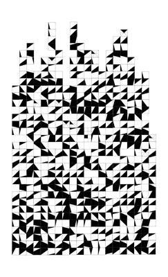 §22, 2016, MixedMedia, 148 x 90 cm