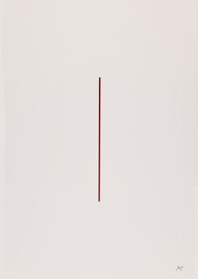 WYSIWYT III, 2015, Tusche/Acryl, 72,8 x 50,8 cm