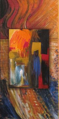 Trio/Klänge der Sifardim, 150x70, 2013