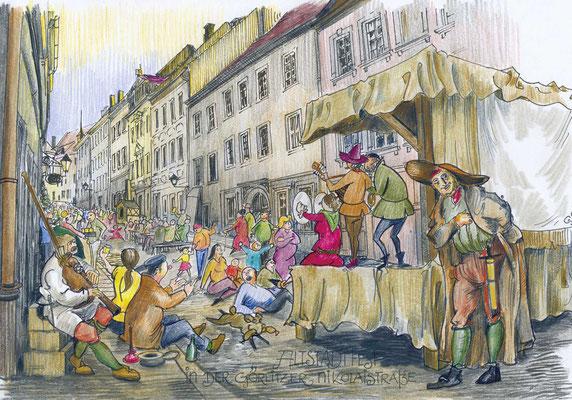 Görlitz - Altstadtfest in der Nikolaistraße