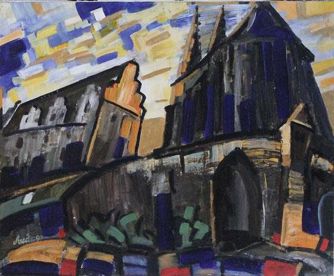 Peterskirche Görlitz, 50x70, 1999