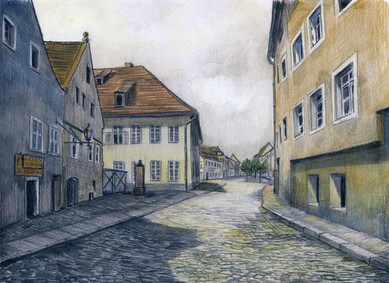 Görlitz (Zgorzelec) - Prager Straße am Hospital