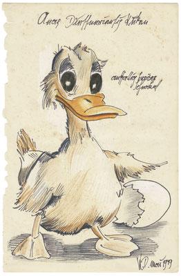 Anas Diesneriensis - die Vorlage für Donald Duck.