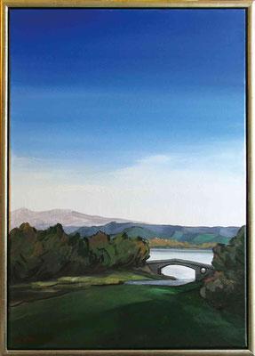 Im Park von Argyle (Schottland), 50x70, 2008