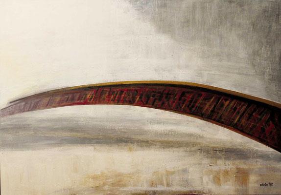 Brücke ins Ungewisse, 100x70, 2013