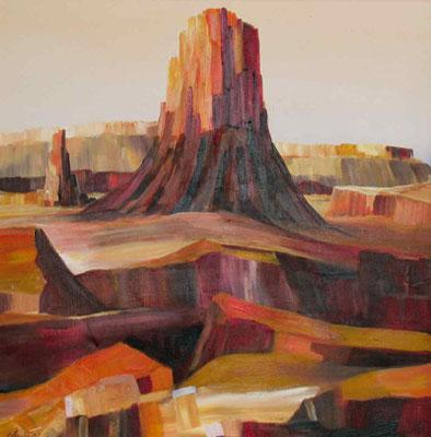 Mesa, 50x50, 2002