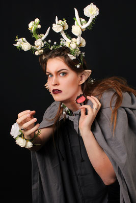 Forest Nymph- Model: Marlies van Nieuwkoop