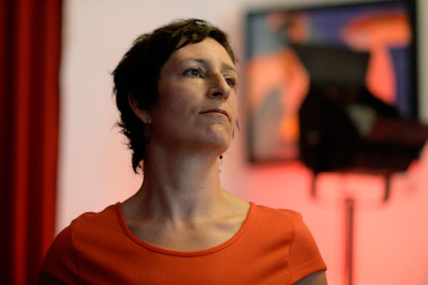 Cornelia Eberle - by Gerhard Richter - CD-Release Hinterhofsalon, Köln 2018