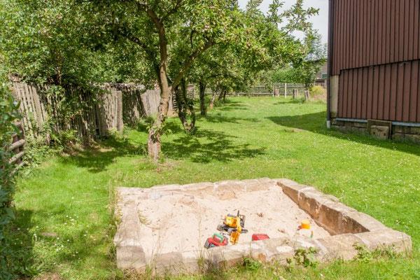 Bauernhof Wacker - Sandkasten für die Kleinen und auch Großen Gäste
