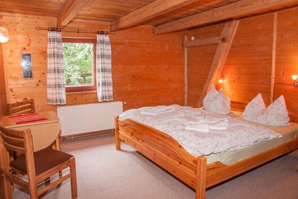 Reiterhof Wacker - Zimmer mit Doppelbett