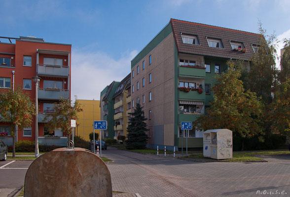 Gotha - Blick von der Bürgeraue zur Fritzelsgasse - 2010