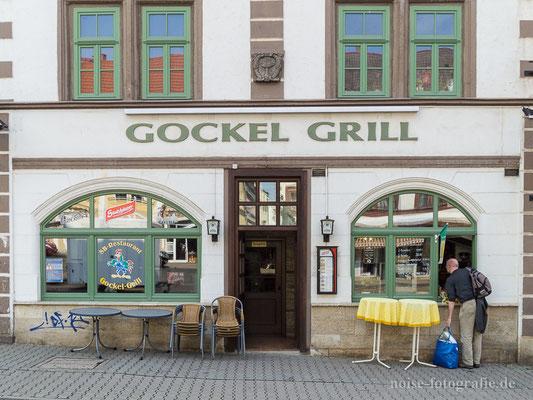 """Hauptmarkt Gotha """"Gockel Grill"""" 203"""
