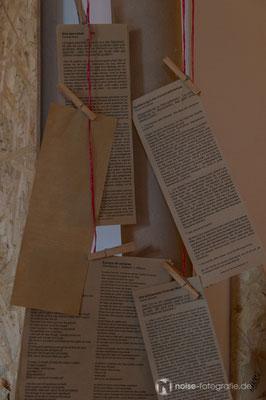 Abschlussveranstaltung des zweiwöchigen ENTLADEN-Projektes des Gothaer Kunst- und Kulturvereins art der stadt e.v.