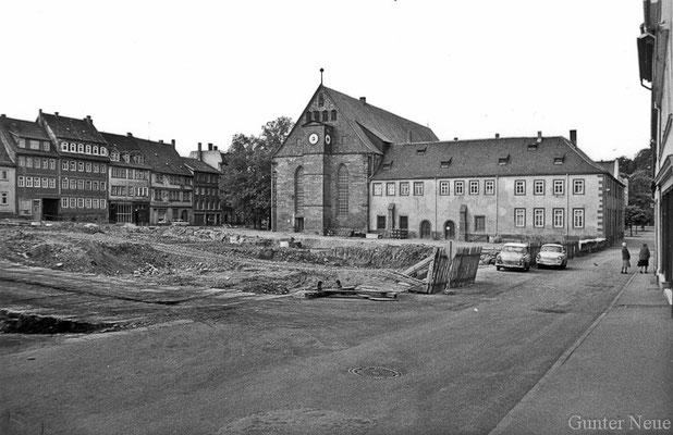 Gotha - Klosterplatz 1987
