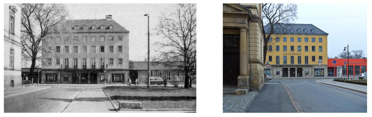 Gotha - Kreiskulturhaus 1985 / 2012 - DDR 80'er Jahre im Vergleich zu heute - Gotha Gestern und Heute