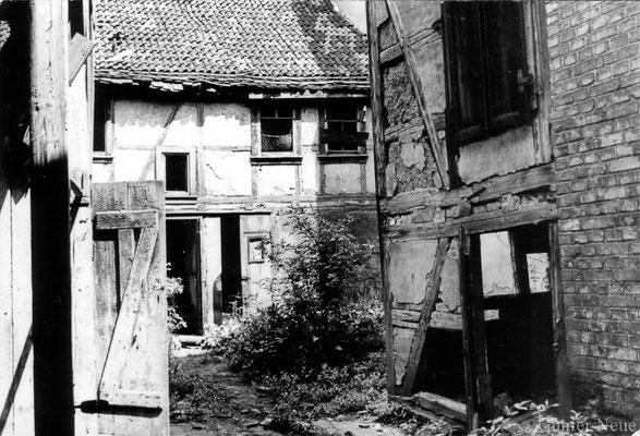 Gotha - schwarzes Viertel - 1982