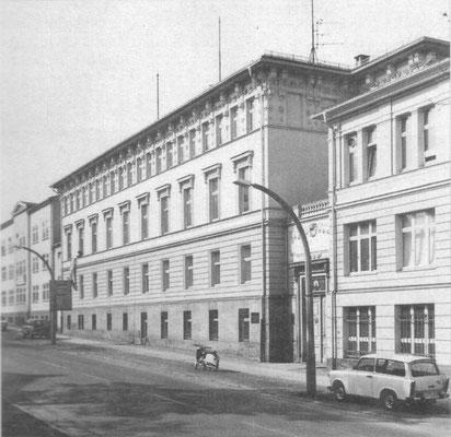 Gotha - Justus Pertes Str. - 80er Jahre