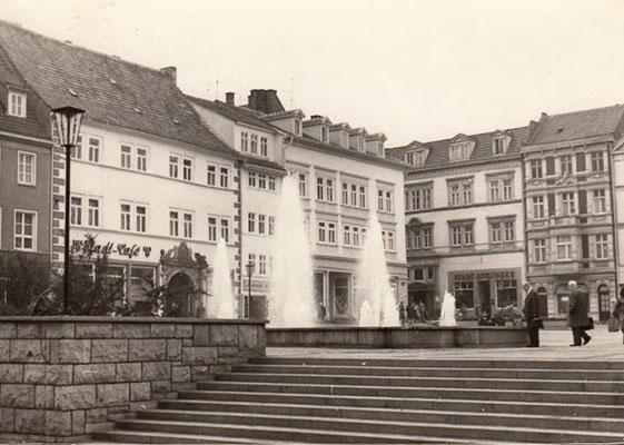 Gotha - Neumarkt - 60er Jahre - Quelle: Dieter Kiessling / facebook