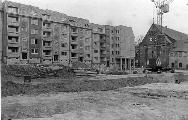 Gotha - Klosterplatz - 1988