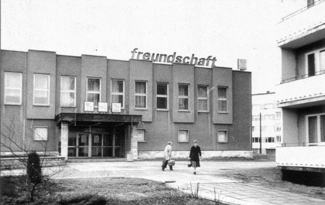 Gotha - Gaststätte Freundschaft - 80er Jahre
