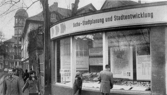 Gotha - Myconiusplatz - 80er Jahre