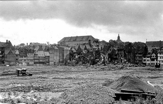 Gotha - schwarzes Viertel - 1981