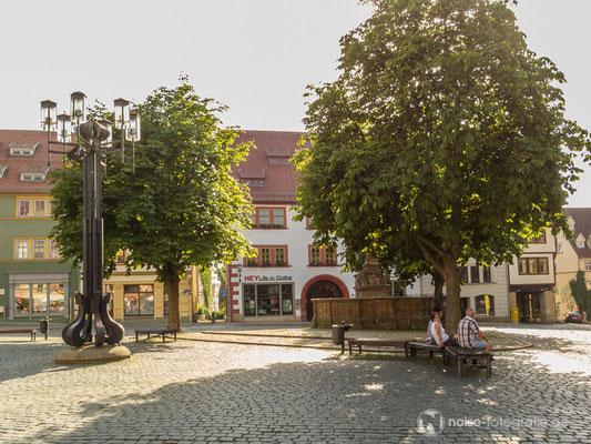 Gotha unterer Hauptmarkt 2014