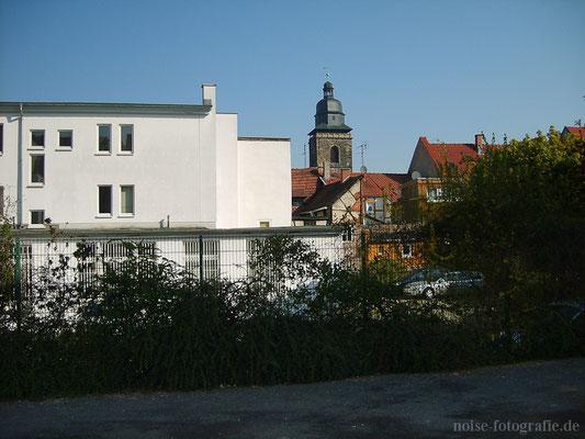 Gotha - Blick zur Margarethenkirche - 2011