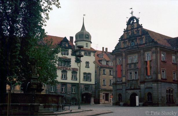 Gotha - Hauptmarkt - 1979