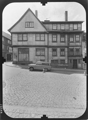 Querstrasse Gotha DDR 80'er Jahre / Quelle: http://www.deutschefotothek.de