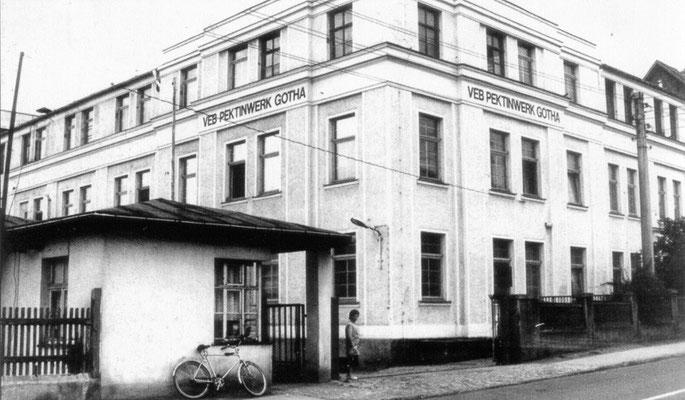 Gotha - Pektinwerk in der Leinastr. - 80er Jahre