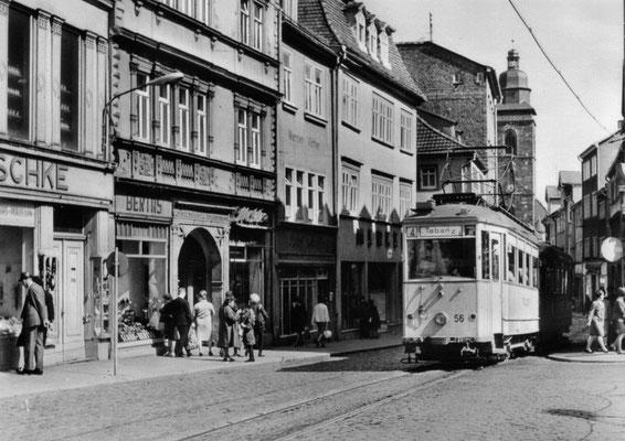Gotha - Marktstr. - 50er Jahre