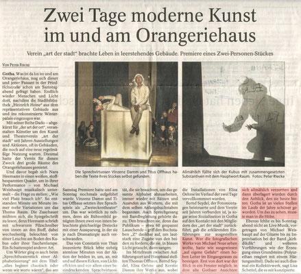 DADO VI - Thüringer Allgemeine vom 17.11.2014