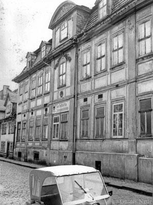 Gotha - Hützelsgasse - 1978 - Gaststätte Prinzenhaus