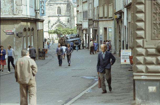 Gotha Marktstrasse 1982 / Quelle: http://www.deutschefotothek.de