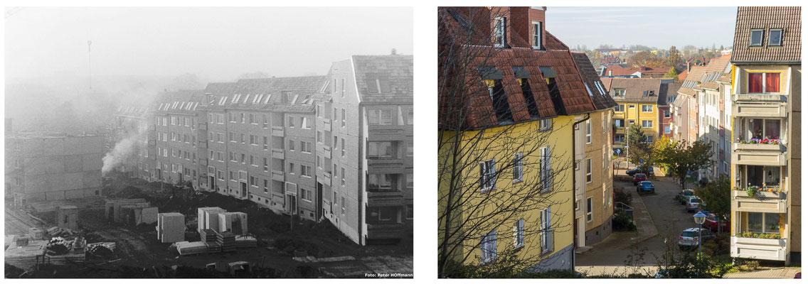 Der Nonnenberg in Gotha / Thüringen 80er Jahre - DDR 80'er Jahre im Vergleich zu heute - Gotha Gestern und Heute