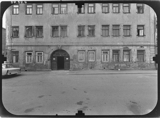 Siebleber Strasse DDR 80'er Jahre / Quelle: http://www.deutschefotothek.de