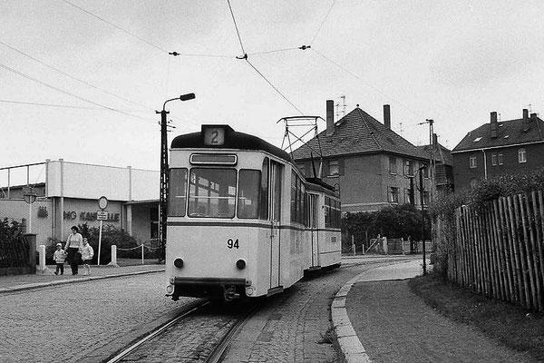 Gotha - Kindleber Str. - 80er Jahre - Foto: leider unbekannt