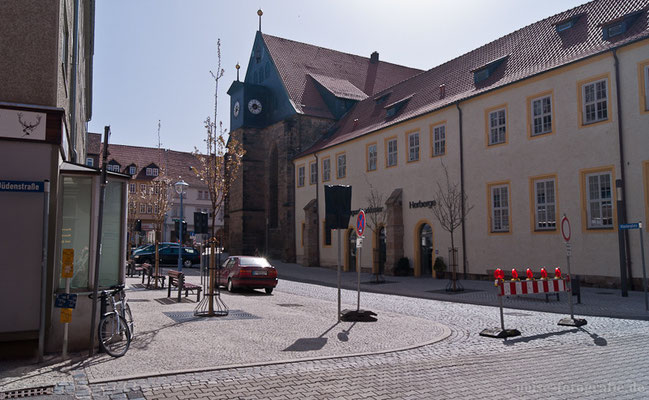 Gotha - Klosterplatz 2011