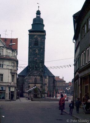 Gotha - Marktstrasse - 1979