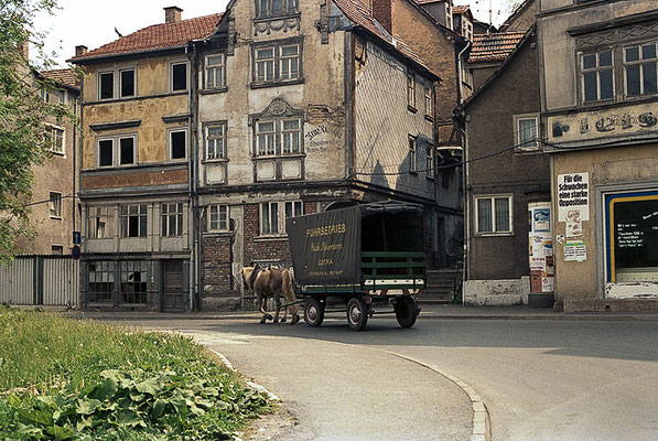 Gotha - Siebleber Strasse - 1990 - Quelle Achim ST/fotocommunity