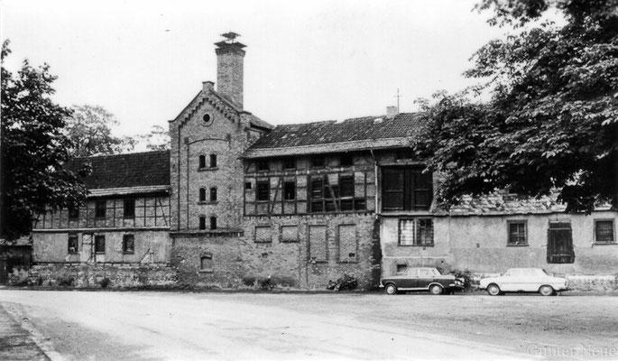 Gotha - Bissingmühle - Breite Gasse 1982