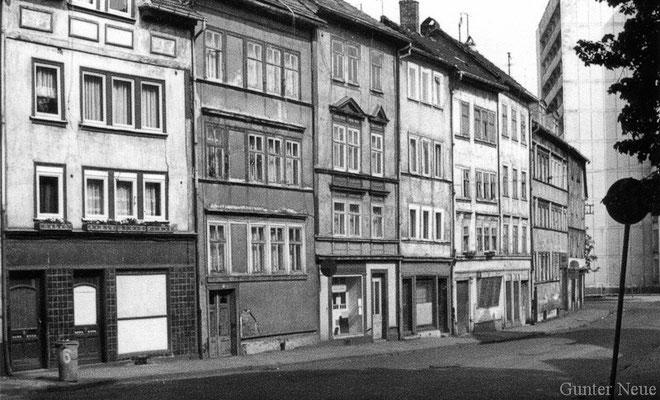 Gotha - Siebleber Strasse 1978