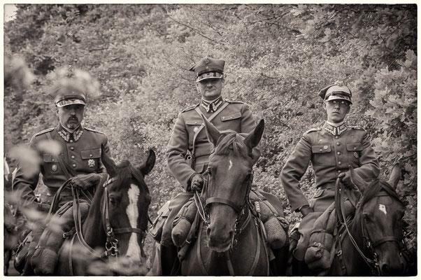 polnische Soldaten