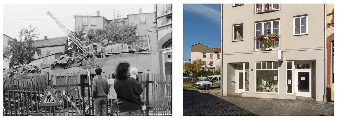 Gotha - Brühl DDR 80er Jahre / 2014 - DDR 80'er Jahre im Vergleich zu heute - Gotha Gestern und Heute
