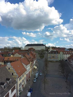 Gotha - Hauptmarkt - Blick vom Rathausturm - 2012